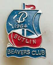 More details for rare 1964 beavers club  butlins holiday camp badge