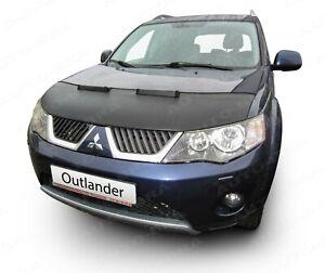 BONNET BRA for Mitsubishi Outlander 2006-2010 STONEGUARD HOOD PROTECTOR TUNING