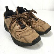 Rockport Prowalker Men's 7 Wide Brown Leather Lace Up Walking Shoes
