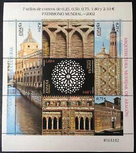 Spain 2002, World Heritage. Mudejar Architecture in Aragón, SG 3906-391, MNH