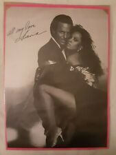 "BLACK & WHITE DIANA ROSS & JULIO IGLESIAS PROMOTIONAL POSTER "" ALL OF YOU"""