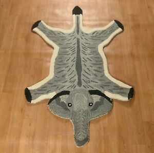Hand Tufted Elephant Skin Wool Carpet Home Decor Bedroom Rug Mat for Gift 2x3 Ft