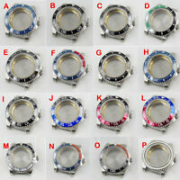 Fit NH35/NH36 Automatic Movement Stainless Steel 40mm Watch Case Sapphire Glass