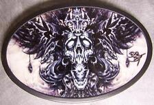 Metal TATTOO belt buckle Star Machine NEW