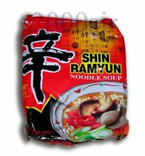 Shin Ramyun Noodle Soup 1 pack Nong Shim brand Spicy