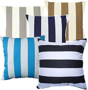 Thick Stripe Classic Print Cotton Canvas Cushion Cover/Pillow Case*Custom Size
