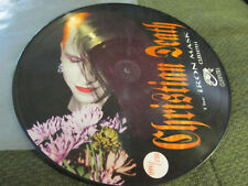 Christian Death Iron Mask '92 LP Picture Disc #991/1500 Rozz Williams goth oop!!