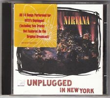 NIRVANA MTV Unplugged New York CD +ORIGINAL YELLOW/RED/WHITE STICKER EU/Germany