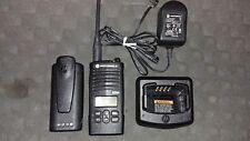 Motorola CP110 UHF 2W 16Ch Two Way Radio Walkie Talkie works w/ RDX RDU4160d