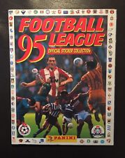 Panini Football League 95 1995 Complete Excellent Condition