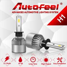 Autofeel H1 200W 20000LM LED Headlight Kit Bulbs 6000K White Power Frot Light US