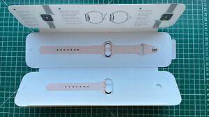 Genuine Apple Watch Pink Sand Sport Band 38mm 40mm.