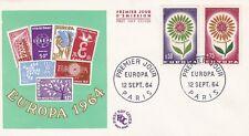 FRANCE FDC 1964 EUROPA YT 1430 ET 1431
