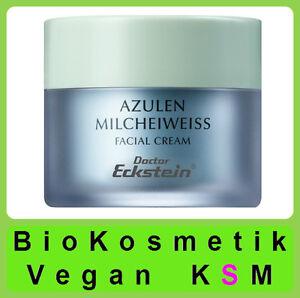 Azulène Milcheiweiss 350 ML XL Set Dr.Eckstein Biokosmetik Pour Peau Sèche