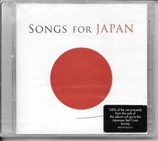 2 CD COMPIL 37 TITRES--SONGS FOR JAPAN--LENNON/U2/BEYONCE/REL/SADE/QUEEN--NEUF