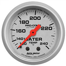 Autometer 4332 Ultra-Lite Water Temperature Gauge 2-1/16 in., Mechanical