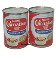 Nestle Carnation Evaporated Milk Pack Of 2 x 410 EXP 2021 Brand New