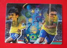 BRASIL 2014 - Adrenalyn Panini - Card Double-Trouble - NEYMAR-HULK BRASIL