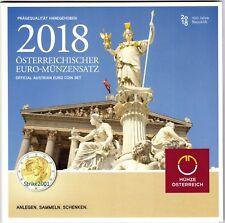 NEW !!! Euro AUSTRIA 2018 in Folder Ufficiale NEW !!!