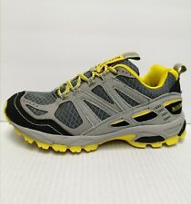 PacificTrail Men's Tioga Light Grey / Yellow Walking Hiking Shoes Size 7 M(D)