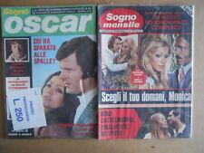 BUSTA anni 70 di 2 Fotoromanzi Sogno Oscar 314 + Sogno Mensile 102  [C93]