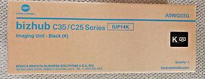 Genuine Konica Minolta Bizhub C35 C25 Black  Imaging Unit  IUP14K A0WG03G