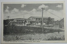 1918 Photo Postcard Cooks And Bakers School Camp Devens Ayer Massachusetts