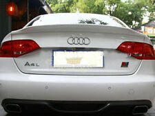 Painted Process Trunk Spoiler for Audi A4 B8 C Type Saloon 2008-2011