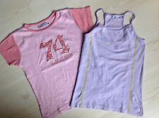 MORGANE ET PETIT BATEAU  lot de 2 tee-shirts 10 ANS