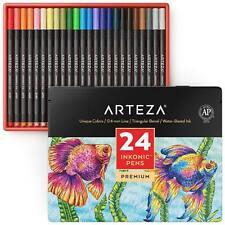 ARTEZA Inkonic Fineliner Pens - Set of 24
