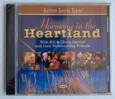 Harmony in the Heartland by Gloria Gaither/Bill & The Homecoming Gospel CD NEW
