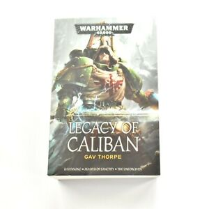 Legacy of Caliban Book Black Library ENGLISH Warhammer 40K Used