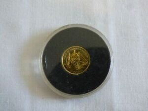 1999 COOK ISLANDS 500 YEARS OF AMERICA 1492-1992 GOLD $20 COIN