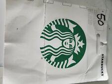 $50 Starbucks GIFT CARD CHEAP