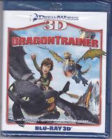 Blu-ray 3D + 2D DreamWorks **DRAGON TRAINER** nuovo 2010