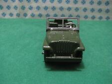 Vintage Tootsietoy  -  Jeep Army 3/4 ton M-38      -  Chicago USA 1956