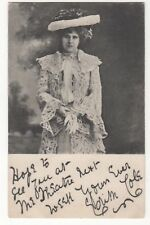 Actress Edith Cole Vintage Postcard 833b