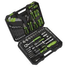 Sealey 135 Piece Mechanics Tool Kit Spanner Socket Set Ratchet Hand Held + Case