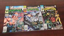 1988 ARCHIE COMICS TEENAGE MUTANT NINJA TURTLES (TMNT) ADVENTURES #1-3 NEWSSTAND