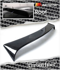 L Type Carbon Fiber Roof Window Spoiler Wing for 2001-2006 Mercedes W203 C-Class