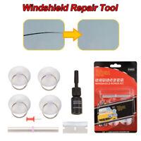 8pcs Set Car Windscreen Windshield Repair Tool DIY Kit Wind Glass For Chip Crack