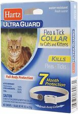 Hartz Ultraguard Flea & Tick Collar for Cats & Kittens and Kittens, White