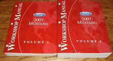 2007 Ford Mustang Shop Service Manual Volume 1 & 2 Set 07