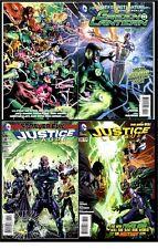 GREEN LANTERN #20/JUSTICE LEAGUE #30 & #31(1st JESSICA CRUZ)CGC 'EM(9.6/9.8)SET!