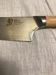 "Shun Hikari 8"" Chef Knife HDM0706 Shun Dual Core Damascus Steel"