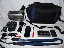 Sony Handycam CCD-TRV67 8mm Video8 HI8 Camcorder Player Stereo Video Transfer