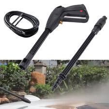 More details for 160 bars high pressure washer spray gun jet lance trigger wash water + hose fast
