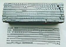 10 point BASKERVILLE ROMAN 4A Letterpress Metal Printing Type