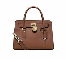Michael Kors Hamilton Saffiano Leather East West Ew Satchel Luggage