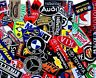 Patch Sponsor Racing SuperCar Embroidered Iron On Sew Logo 120 Designs Vintage